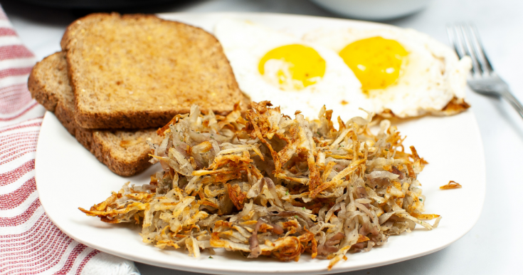 Made from Scratch Air Fryer Hash Browns