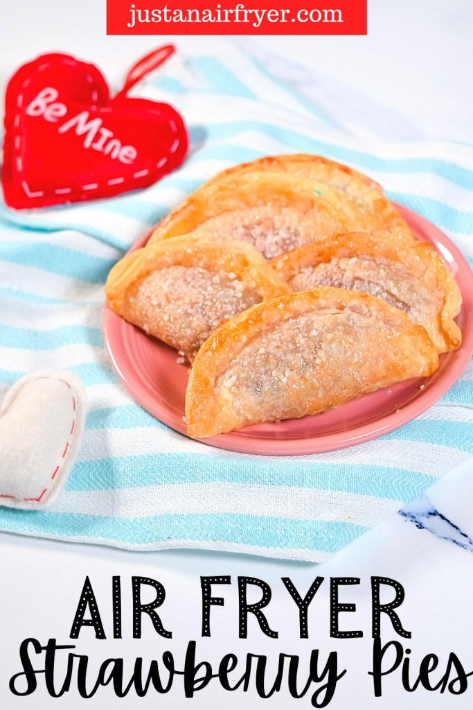 Title image for Air Fryer Strawberry Mini Pies