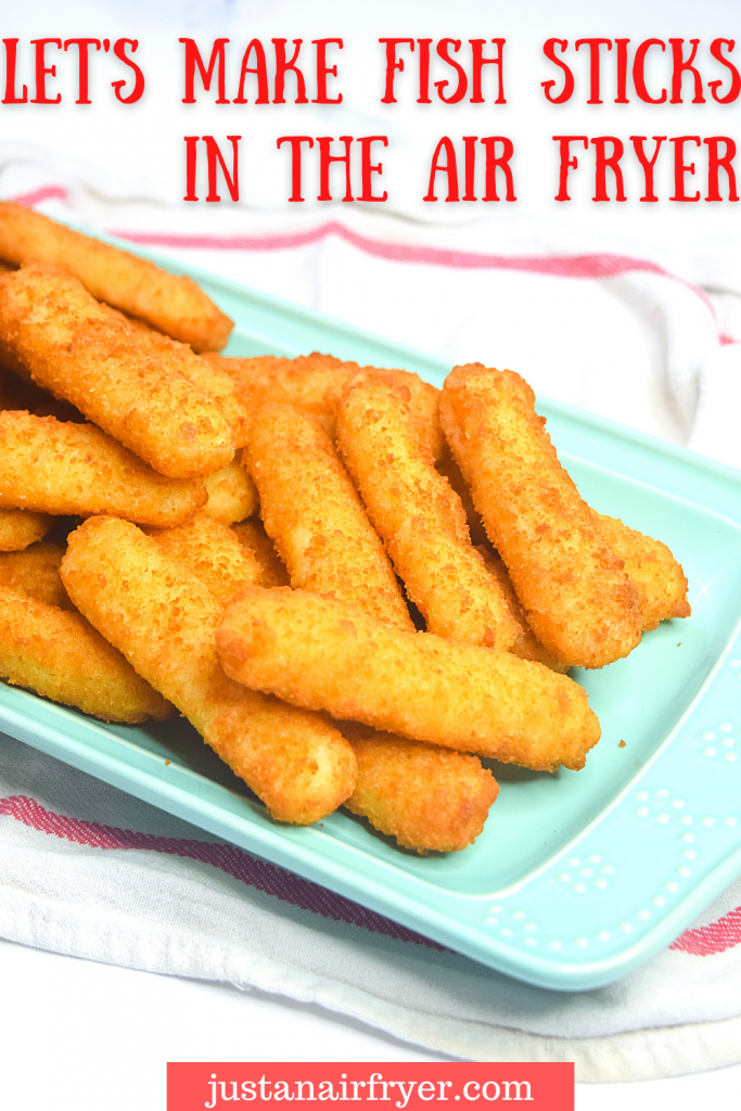 Title image for frozen fish sticks in the air fryer