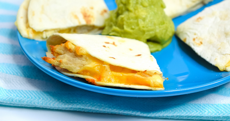 Chicken Quesadillas in the Air Fryer